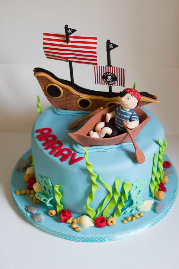 Pirate Themed Cake Cupcake Kitchen