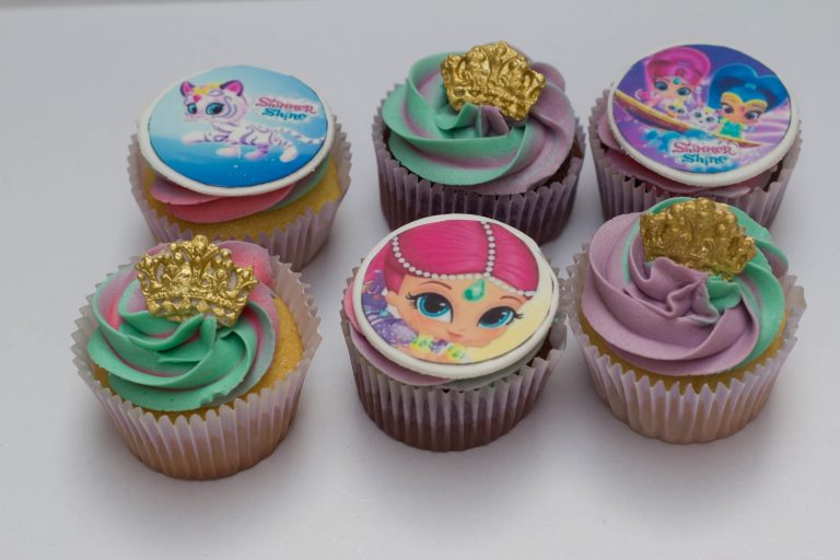 Shimmer and shine cupcakes cupcake kitchen for Kitchen accessories cupcake design