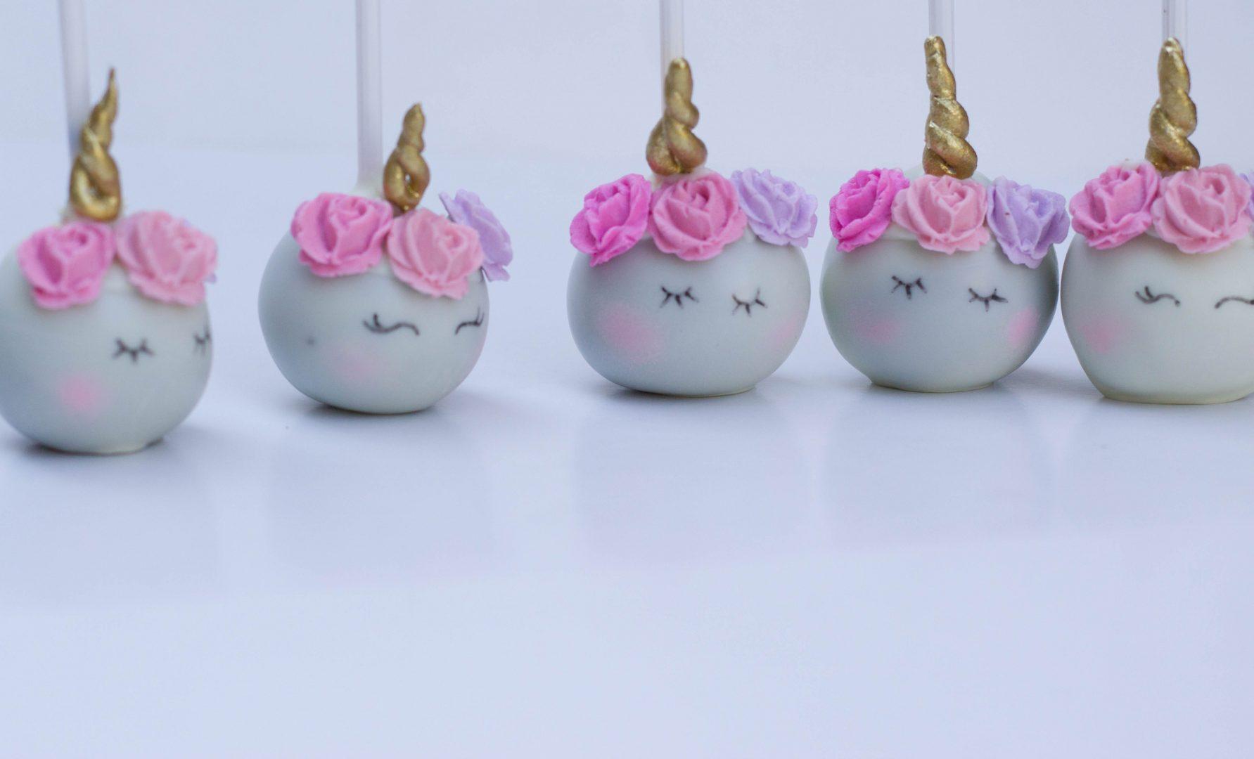 Unicorn themed cake pops | Cupcake Kitchen
