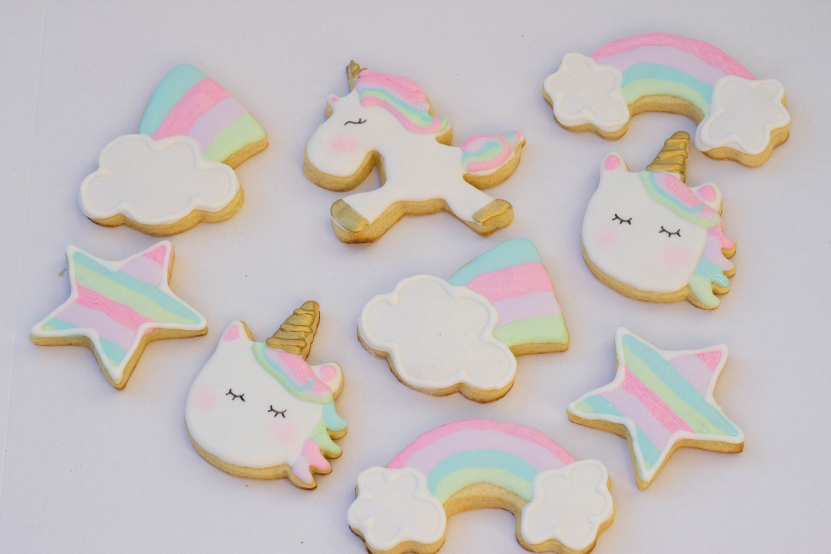 Unicorn Themed Cookies Cupcake Kitchen