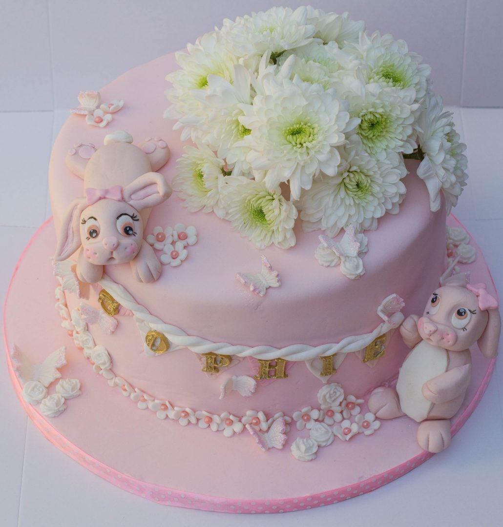 Bunny Themed Cake Cupcake Kitchen