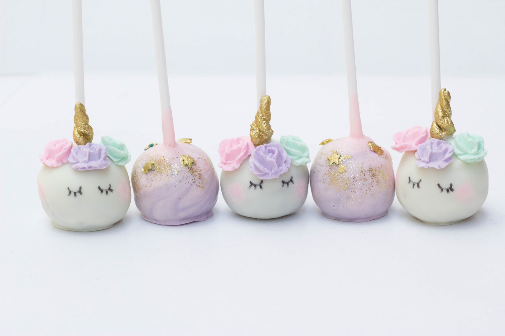 unicorn cake pops unicorn cake pops cupcake kitchen 8164