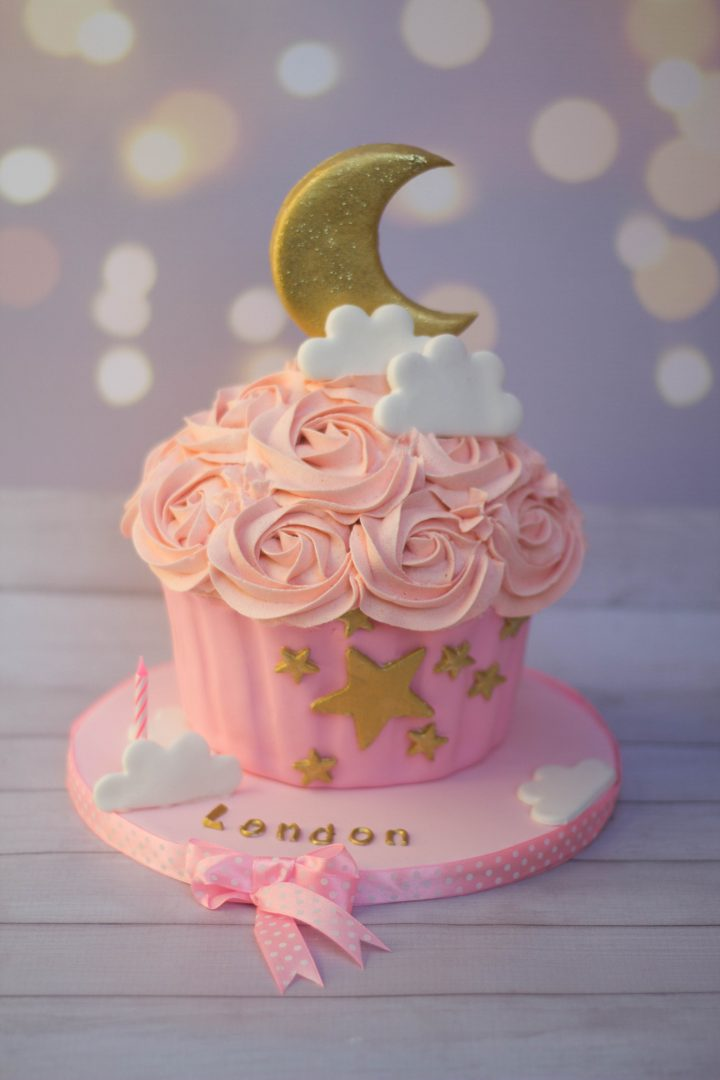 Twinkle Little Star Themed Giant Cupcake Cupcake Kitchen